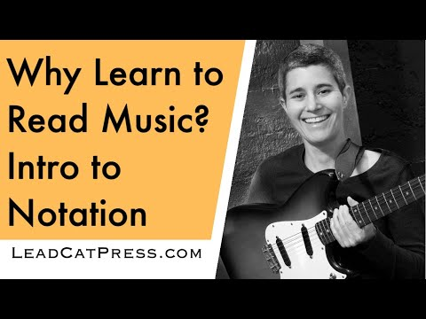 Guitar Basics: Introduction to Standard Music Notation (Video #7)