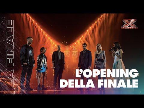 L'Opening della Finale di X Factor 2018 con Marco Mengoni