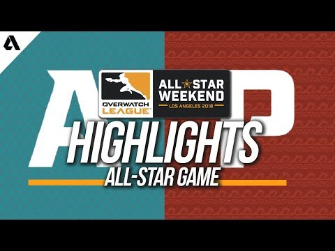 Official All-Star Game | Overwatch League All-Star Weekend Highlights thumbnail