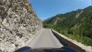 Porsche 911 Driving through the French Alps Day 4