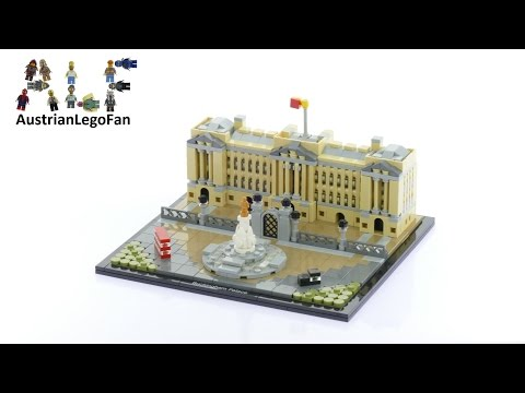 Lego Architecture 21029 Buckingham Palace - Lego Speed Build Review