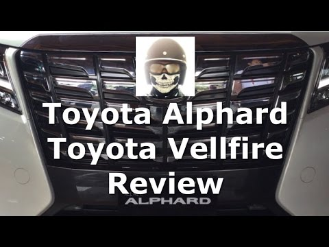 All New Toyota Alphard Vellfire Review Indonesia