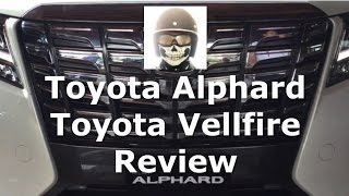 All New Toyota Alphard & Vellfire Review Indonesia