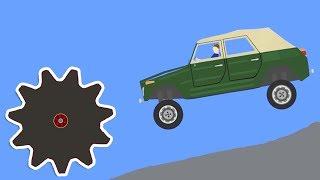 Phun Algodoo  Ultimate Car Destruction