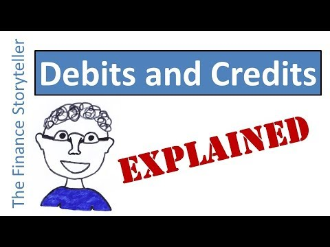 Debits and credits explained