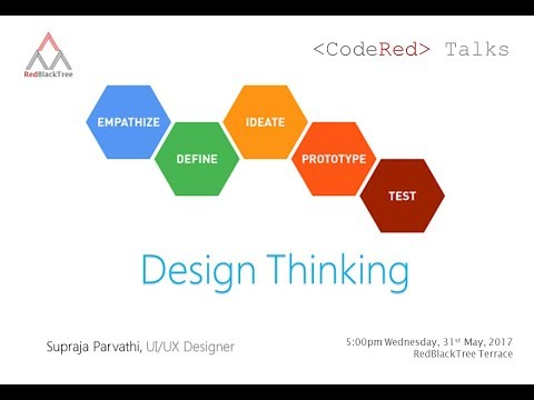 Code Red Session - A Primer on Design Thinking