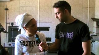 Backstage M'Barka Ben Taleb - Radio Amore Campania