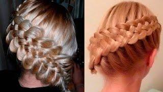 Уроки красивых причесок французкие косы