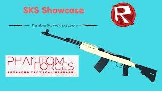SKS Showcase! Roblox Phantom Forces