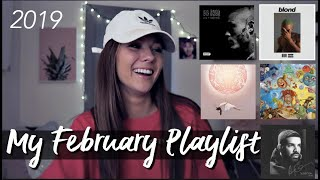 this might be my february spotify playlist
