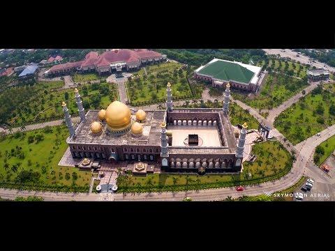 Masjid Kubah Emas Aerial