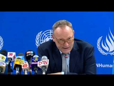 Press Conference with UN Special Rapporteur Mr. Ben Emmerson