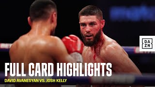 David Avanesyan vs. Josh Kelly: Full Card Highlights