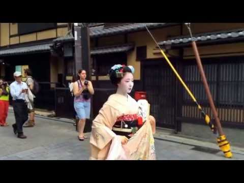 Mamefuji, one of the most popular maiko today