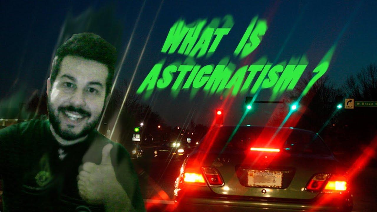 Astigmatism Simulation