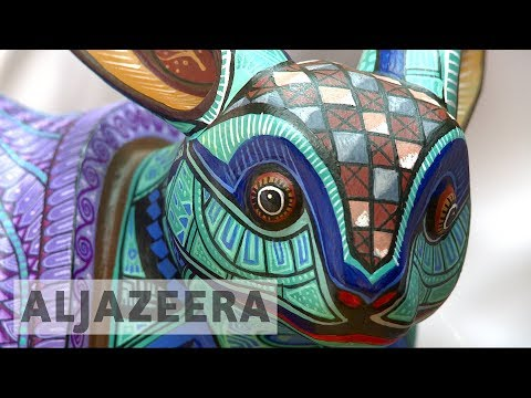 Mexicans turn ancestors' craft into artworks
