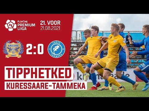 Kuressaare FC Tammeka Tartu Goals And Highlights