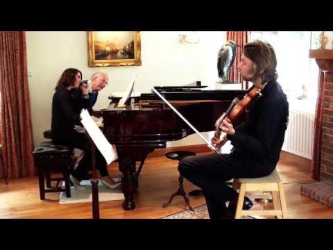 Poulenc Violin Sonata 1st Mvt Daniel Rowland & Alissa Firsova