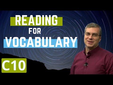 Learn English | Reading for Vocabulary | Level C | Lesson 10 |  Brian Stuart  (미국교과서)