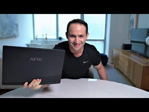 Aero 15 OLED Review - Best Lightweight Gaming Laptop? - vs Razer Blade15!
