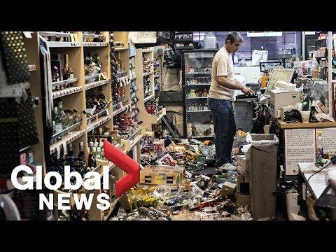 7.1 magnitude earthquake rattles California