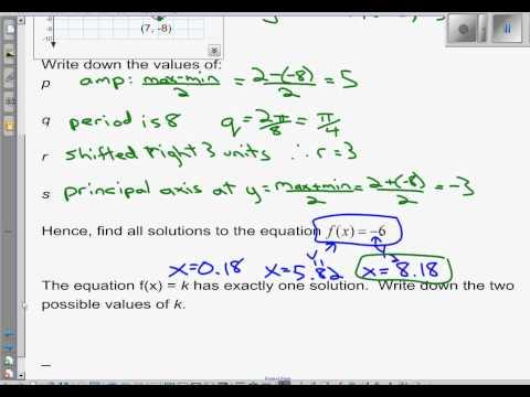 IB Math SL Trigonometry Review - Topic 3