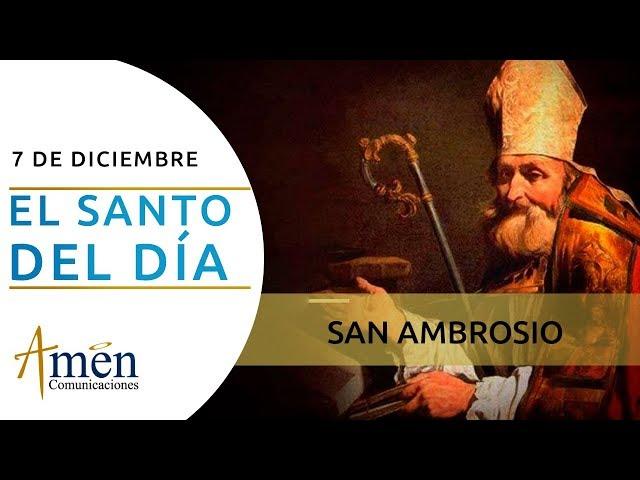 San Ambrosio l Sábado 07 de Diciembre de 2019 l Padre Carlos Yepes