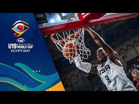 USA v Angola - Full Game - FIBA U19 Basketball World Cup 2017