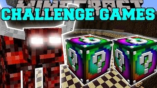 Minecraft: NETHER BEAST CHALLENGE GAMES - Lucky Block Mod - Modded Mini-Game thumbnail