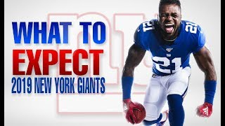 What to Expect from The 2019 New York Giants