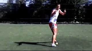 Beast Mode Soccer Tennis Ball Challenge: Ali Riley