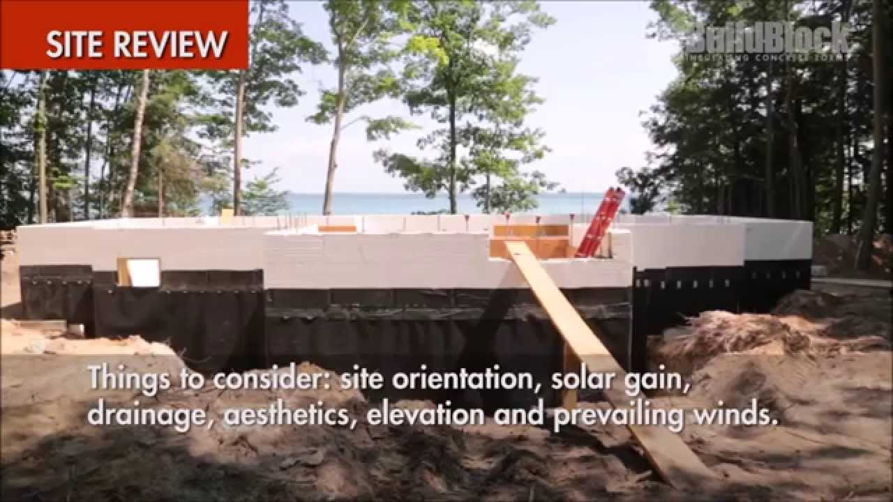 Buildblock insulating concrete forms icf installation site for Buildblock icf reviews
