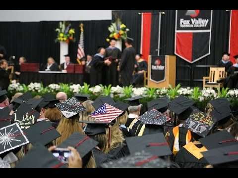 Spring 2017 Commencement | Fox Valley Technical College