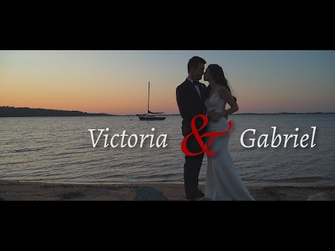 Victoria & Gabriel's Wedding Teaser @ The  Tower House in Martha's Vinyard, MA