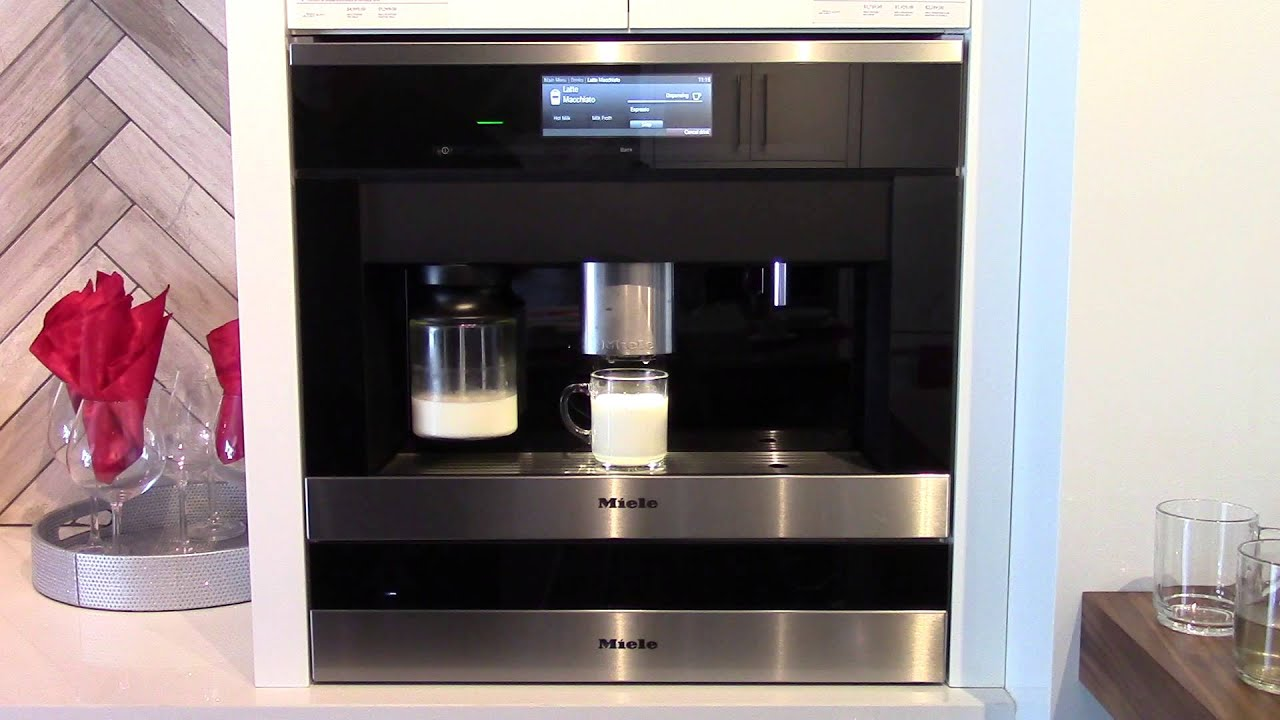 Miele Coffee Machine A World Class Perfect Caffe Macchiato Every Time
