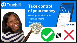 TRUEBILL APP - Quİck REVIEW with me! BEST Money Saving App?🤑 Is TrueBill Safe? | Login, Cost etc.
