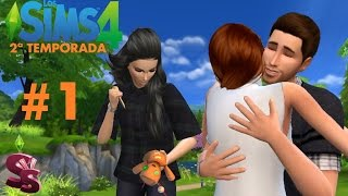Serie Los Sims 4 | Ep. 1 | Tres son multitud | Gameplay en español