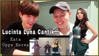 """Download lagu Orang Korea Reaction Lucinta Luna """"BOBO DIMANA"""" ft BIN MP3"""