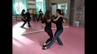 Связка 1 уровень хастл | Школа танцев Харьков