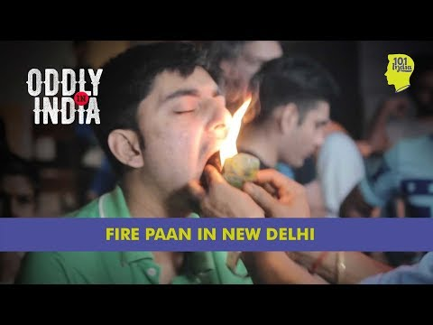 Fire Paan At Connaught Place, New Delhi | Unique Stories from India
