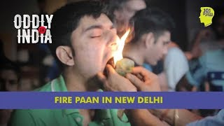 Fire Paan At Connaught Place, New Delhi | Unique Stories from India thumbnail