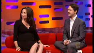The Graham Norton Show 2008 S3x04 Minnie Driver, Jimmy Carr Part 1. YouTube