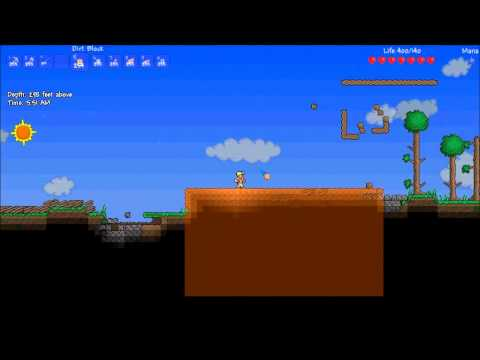 Video - Terraria Mod - Buildaria (Start Modding Terraria In