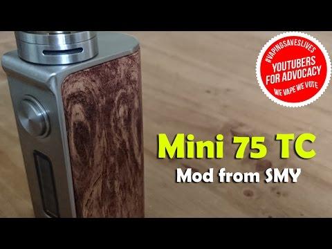 SMY Mini 75 Watt TC -  Review