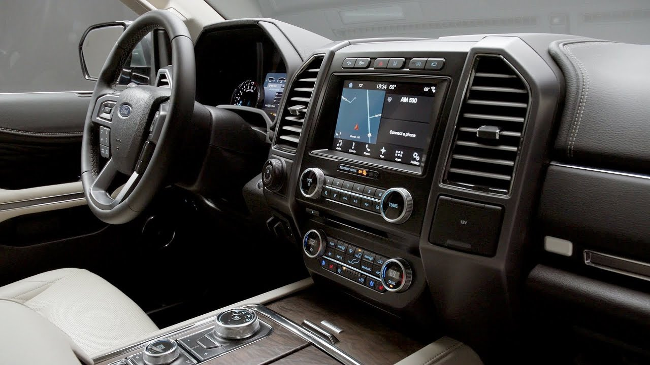 2018 Ford Expedition Platinum - Interior - YouTube