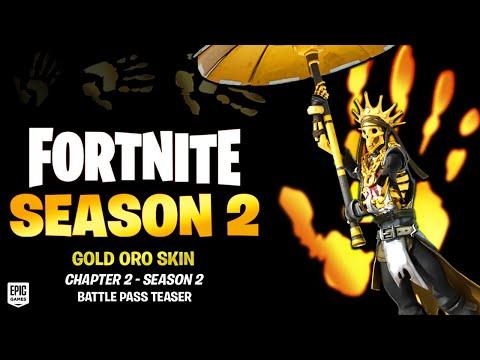 *NEW* Season 2 Battle Pass Skin! (Fortnite Chapter 2)