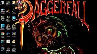 How to Install and Play The Elder Scrolls II: Daggerfall using DOSBox on Windows 10