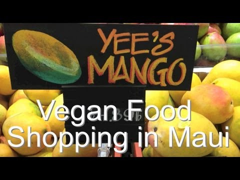 Vegan Food Shopping in Maui