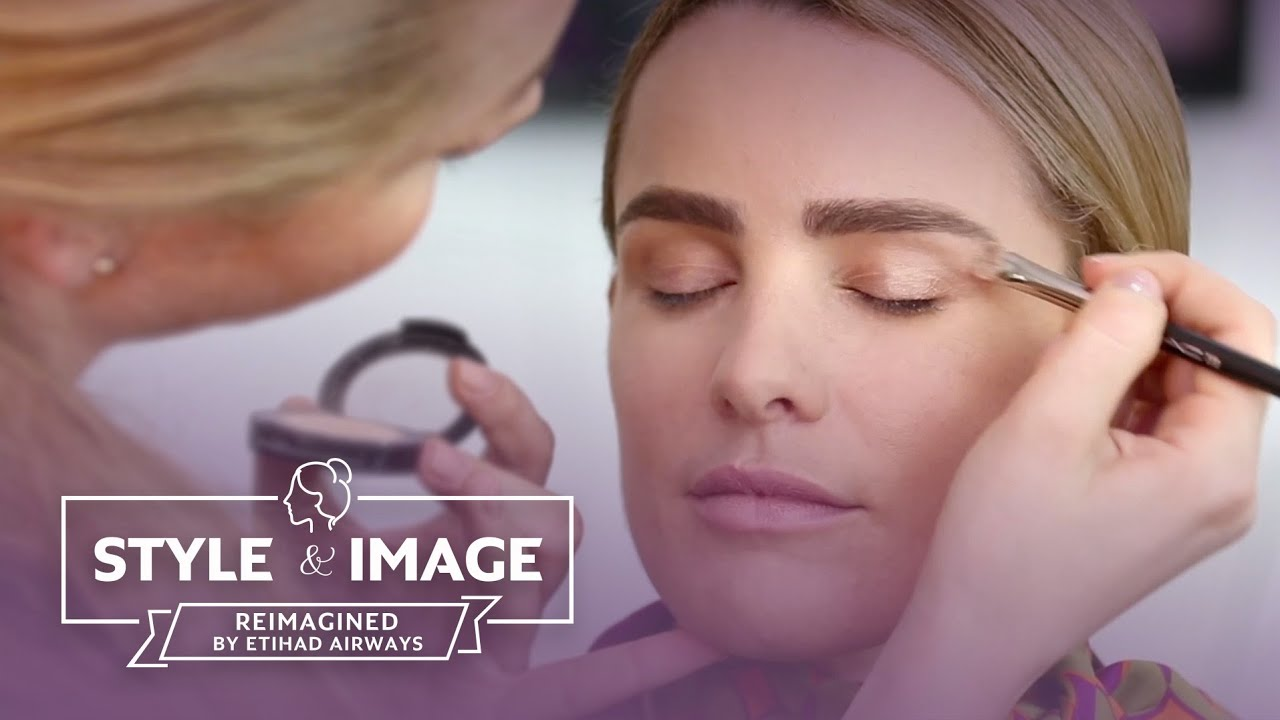 style & image | make up tutorial | reimagined by etihad airways