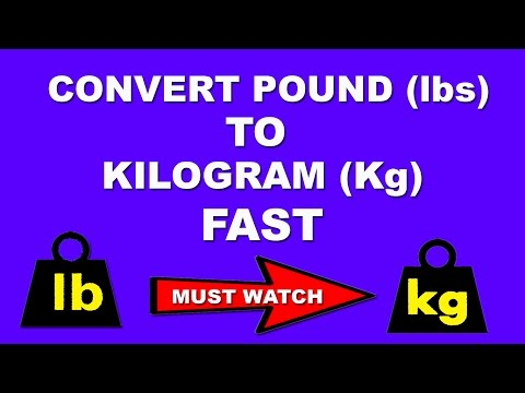 Fast Maths Trick To Convert Pound To Kg In Few Seconds In Mind